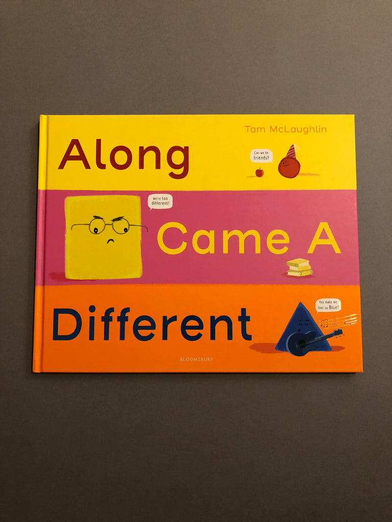 Along Came A Different, by Tom McLaughlin (paperback Feb 2019)