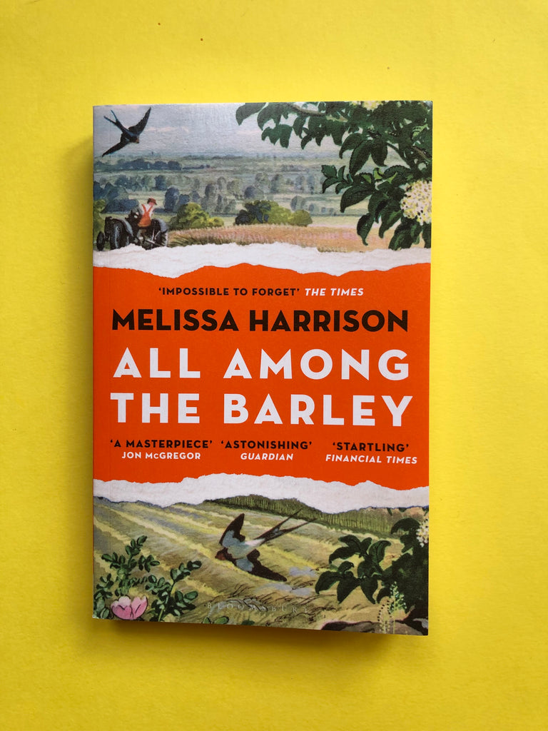 All Among The Barley by Melissa Harrison (paperback)