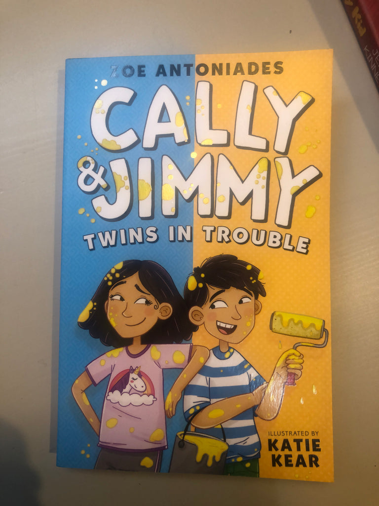 Cally & Jimmy : Twins in Trouble, by Zoe Antoniades
