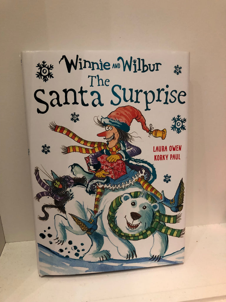 Winnie and Wilbur : The Santa Surprise by Laura Owen ( hardback)