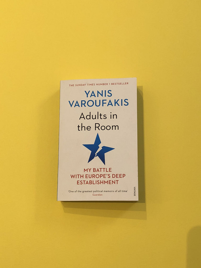 Adults in the Room, by Yanis Varoufakis ( paperback)