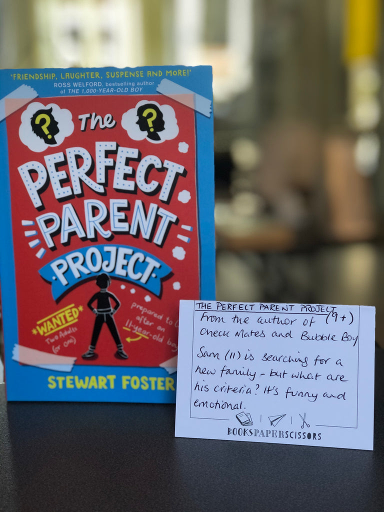 The Perfect Parent Project, Stewart Foster ( pb Jan 2021)
