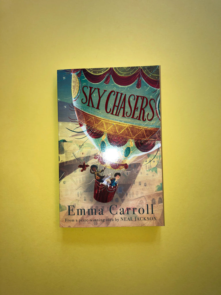 Skychasers, by Emma Carroll