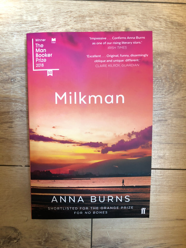 Milkman, by Anna Burns (paperback)
