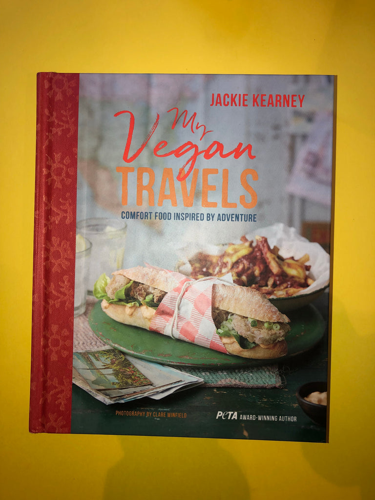 My Vegan Travels by Jackie Kearney (hardback)