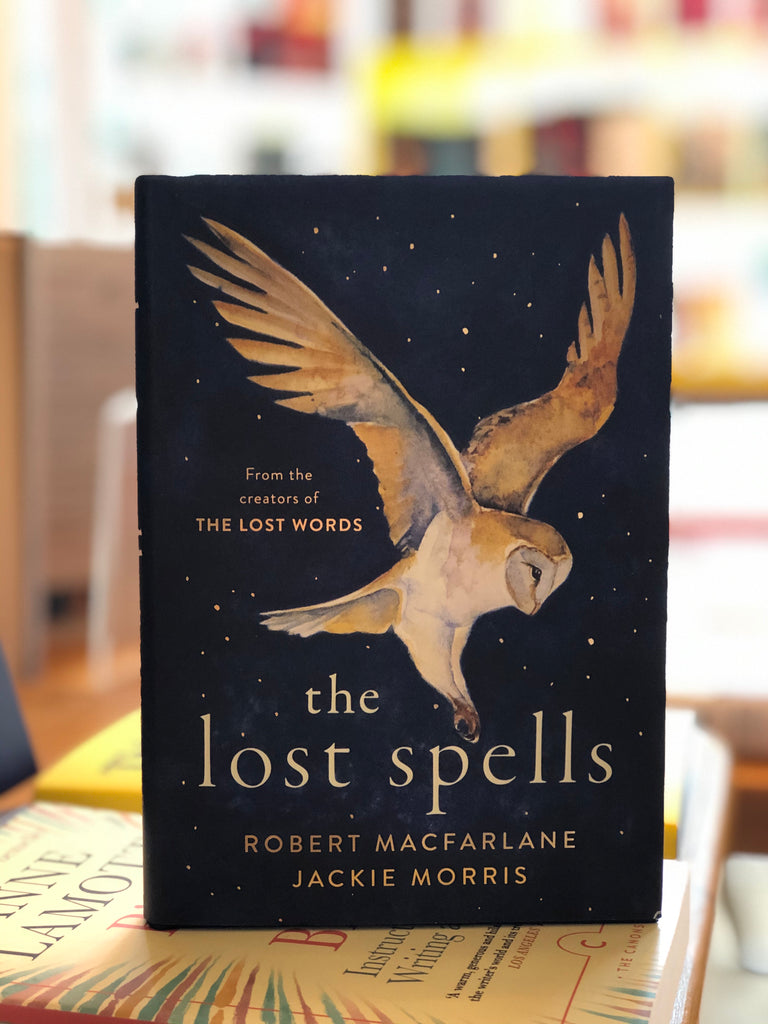 THE LOST SPELLS by Robert Macfarlane and Jackie Morris (October 2020, hardback)
