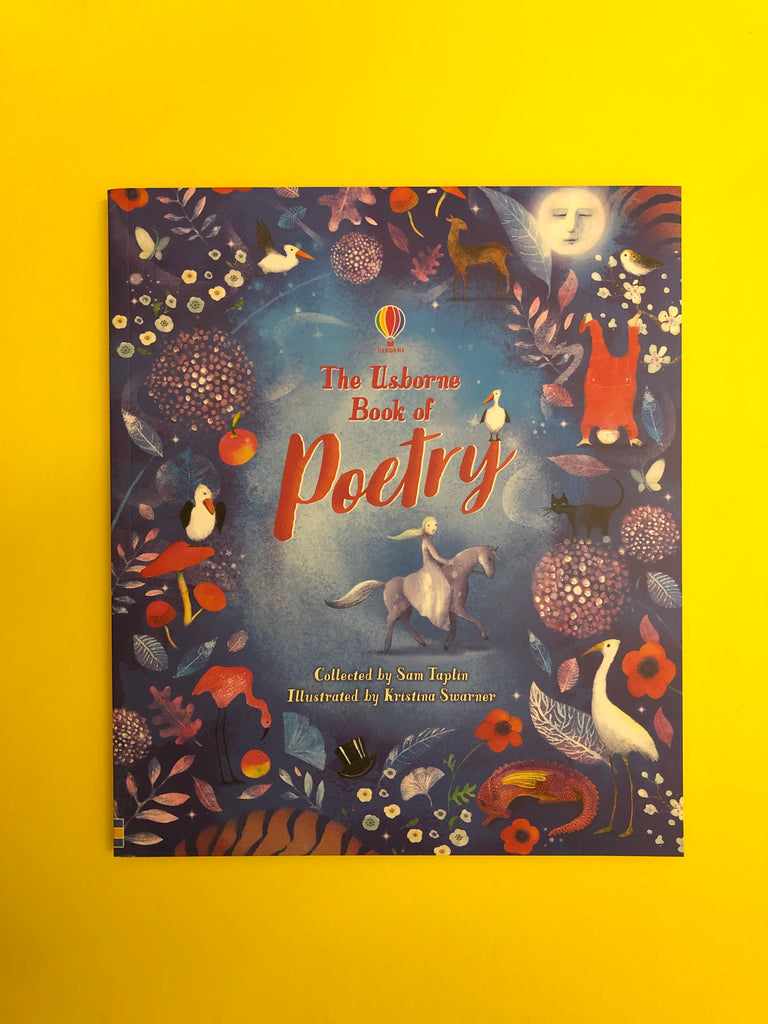 The Usborne Book of Poetry edited by Sam Taplin