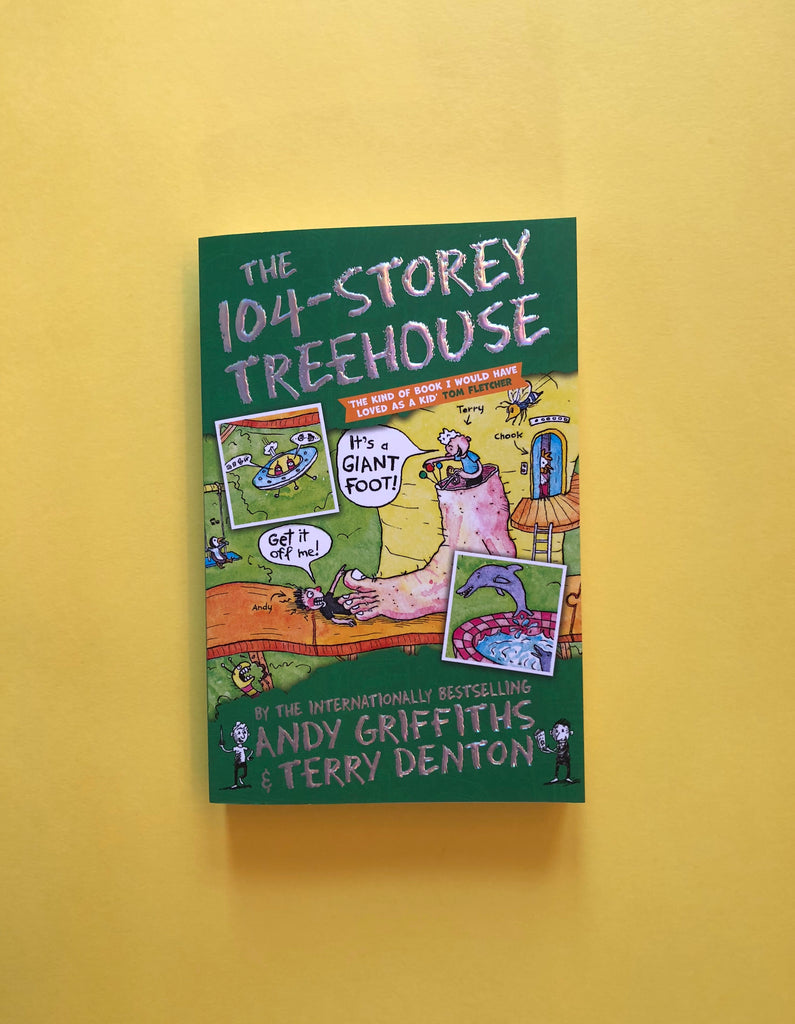 The 104-Storey Treehouse, by Andy Griffiths and Terry Denton