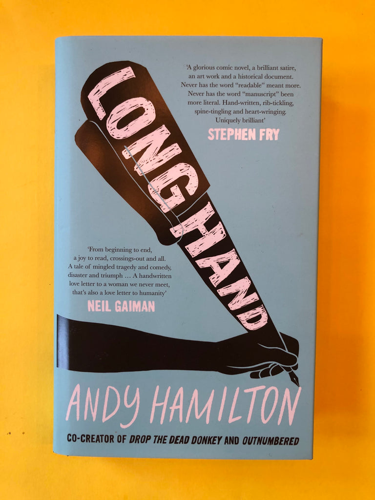 Longhand, by Andy Hamilton ( hardback, September 2020)