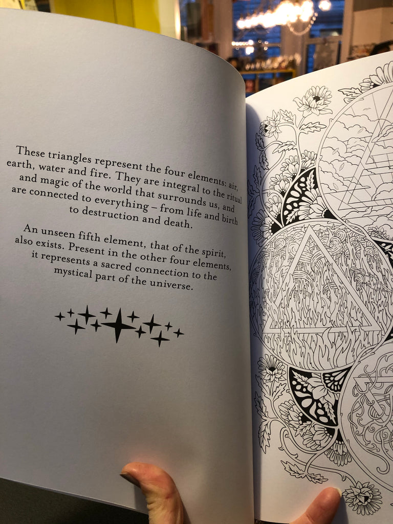 Believe in Magic : An Enchanting Colouring Book
