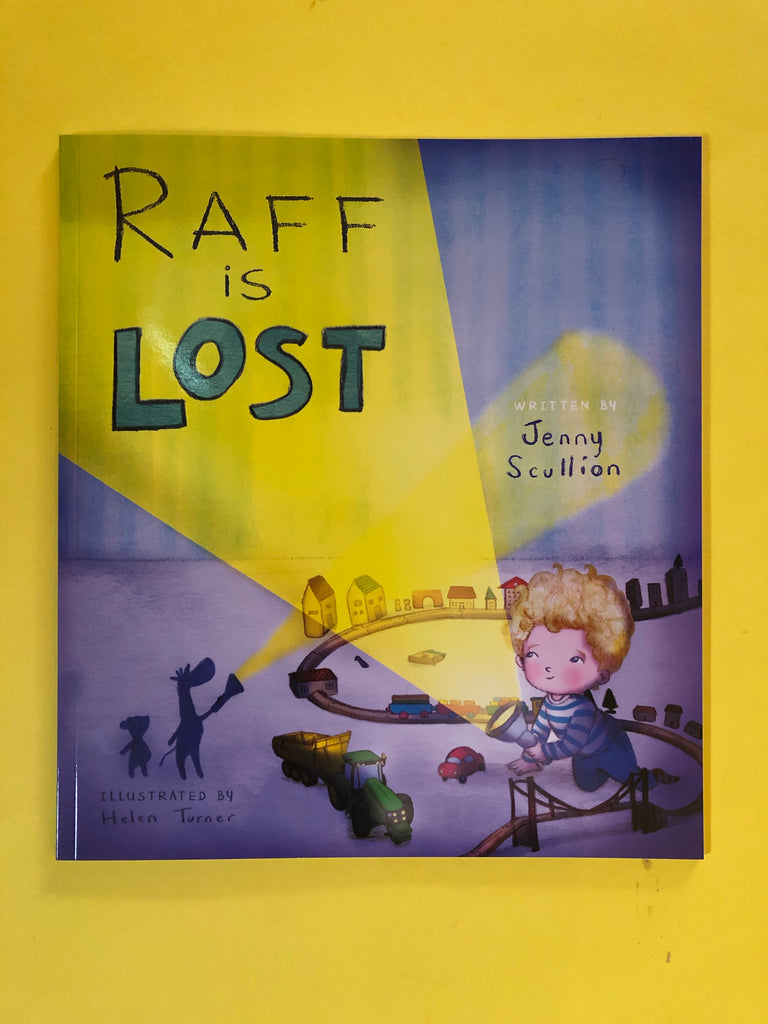 Raff is Lost, by Jenny Scullion ( paperback)