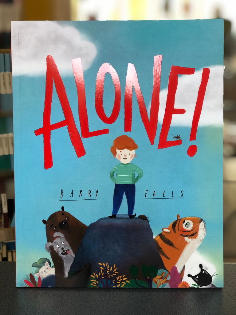 Alone, Barry Falls ( paperback 4 Mar 2021)