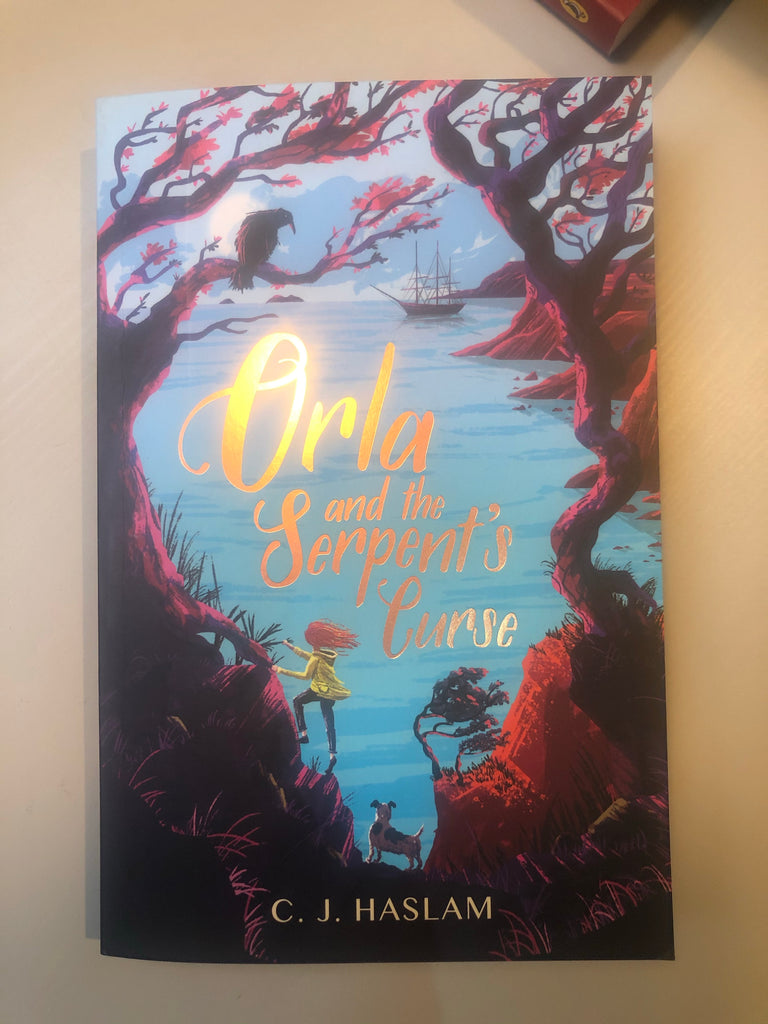 Orla & The Serpent's Curse, paperback ( Apr 2020) by CJ Haslam