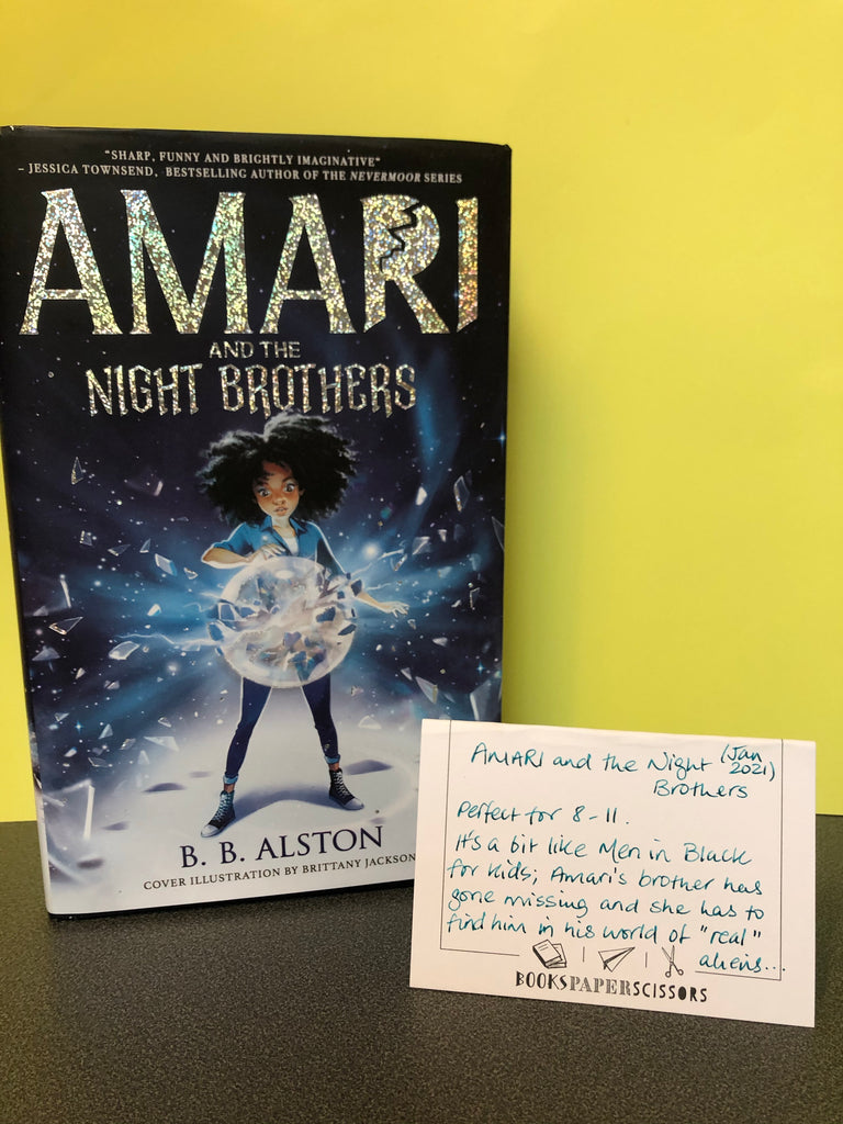 Amari and the Night Brothers, BB Alston ( hardback, Jan 2021)