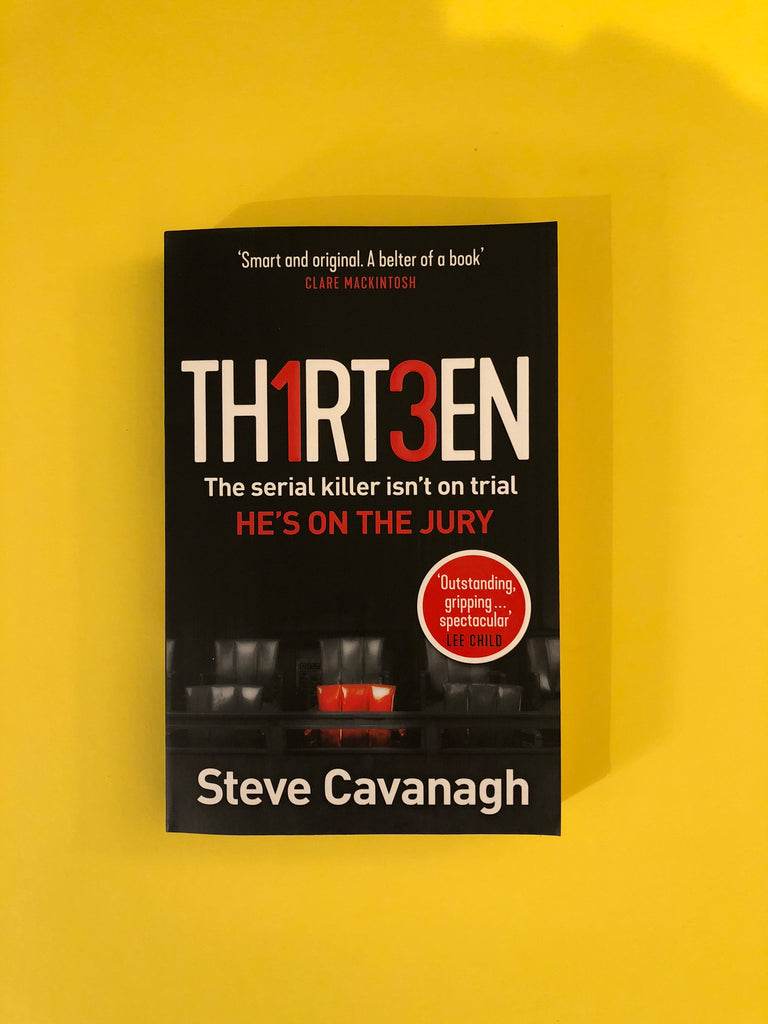Thirteen, by Steve Cavanagh
