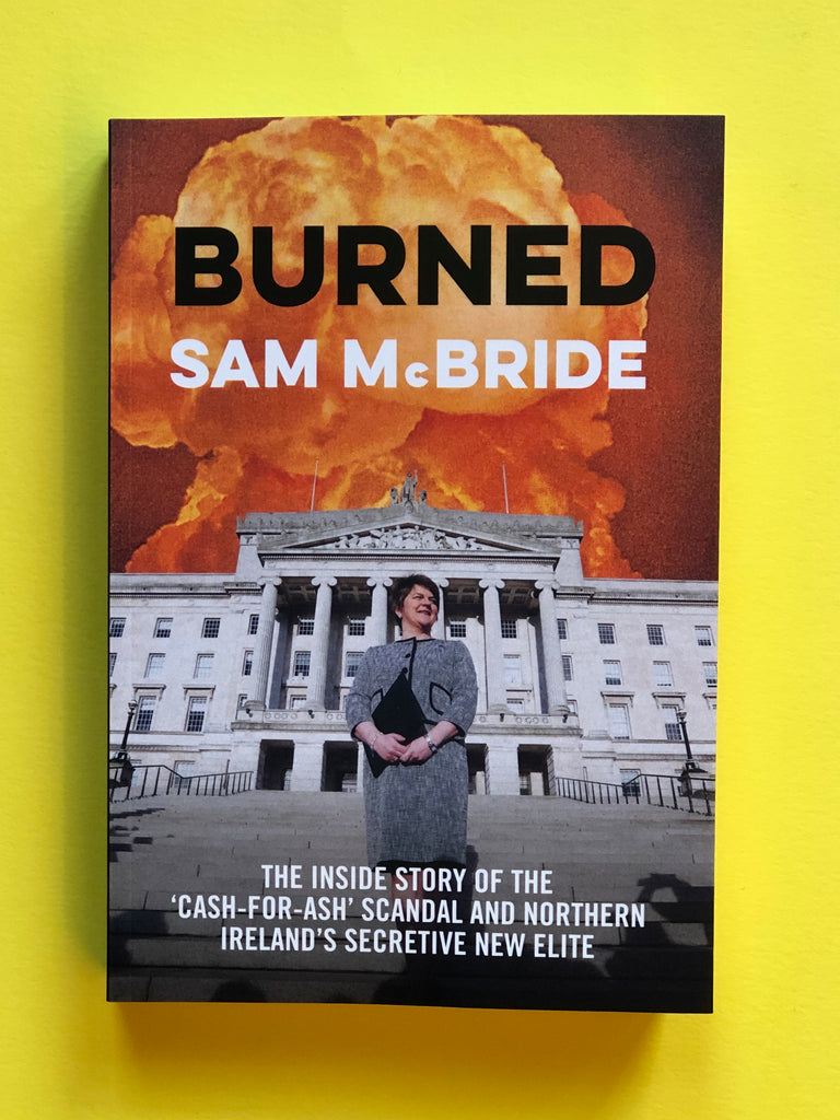 Burned, by Sam McBride ( paperback, Oct 2019)