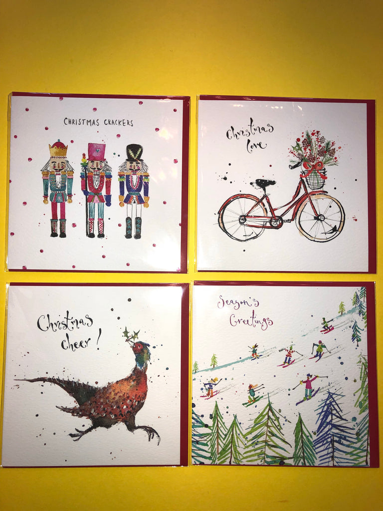 Christmas Cards by Louise Mulgrew