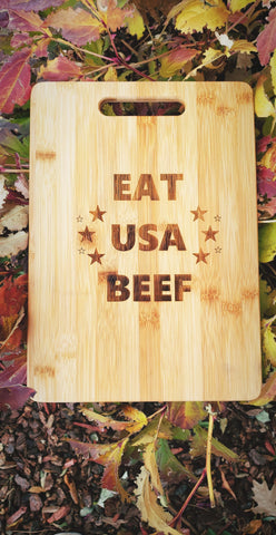 Eat USA Beef Cutting Board