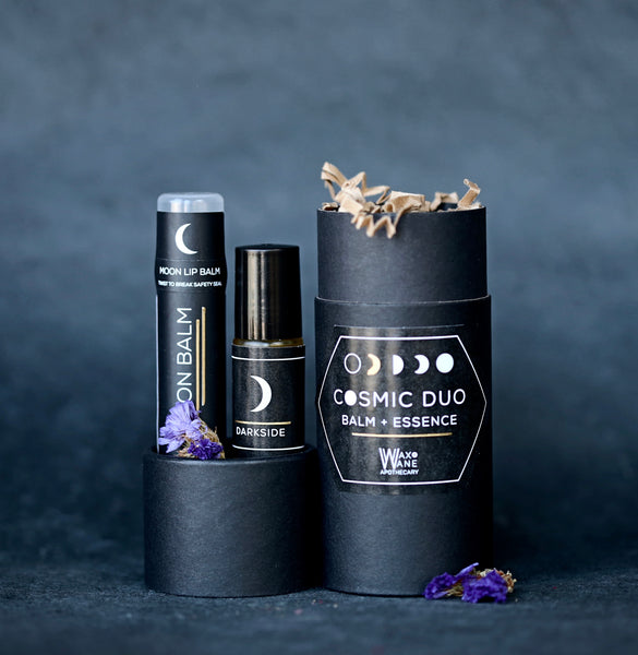 Cosmic Duo / Moon Balm and Roller Ball Gift Set