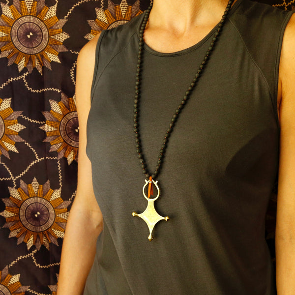 North Star Black Mala