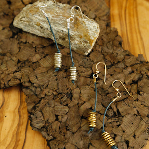 Metal Cairn Earrings