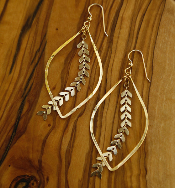 Athena Sun Earrings
