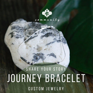 Custom Journey Bracelet / Personalized Bracelet / Gift