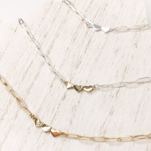 Love Stack Necklace