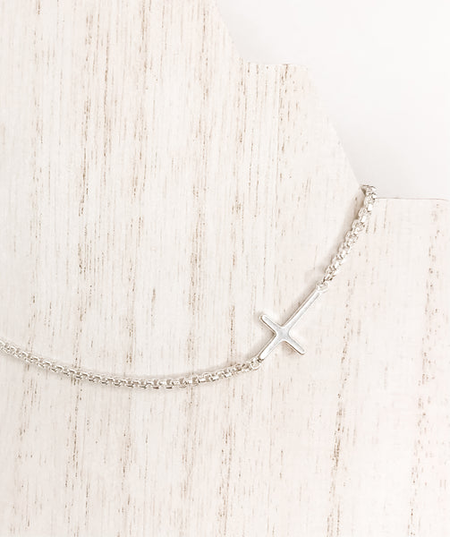 Crosswise Necklace