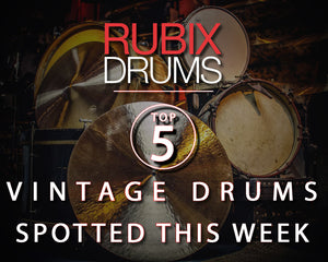 🥁 Our 5 Favourite Vintage Drums Spotted This Week 🥁