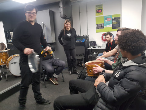 ICMP lecture drumming