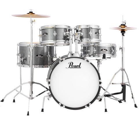Pearl Roadshow Jr. 5-Piece Drum Kit with Hardware and Cymbals - 16/8/10/13/12SD