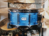 "FG Drums - Segmented Ash 14"" × 6.5"" Snare Drum"