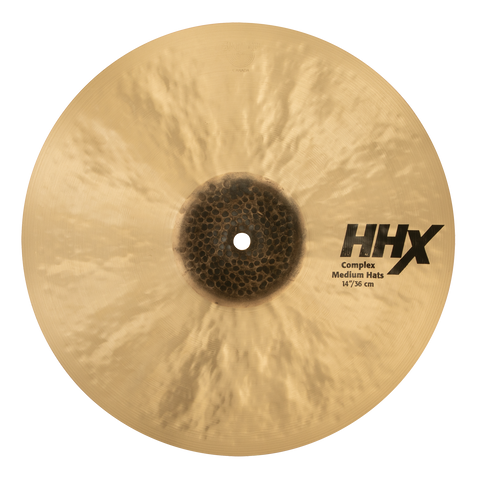 "Sabian 14"" HHX Complex Medium Hi-Hats"