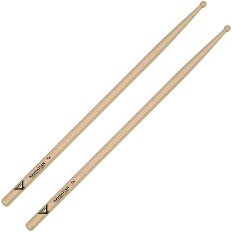 Vater Manhattan 7A Wood Tip Drumsticks - VH7AW