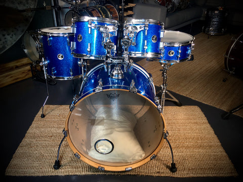 Sonor Force 3007 Drum Kit in Blue Sparkle