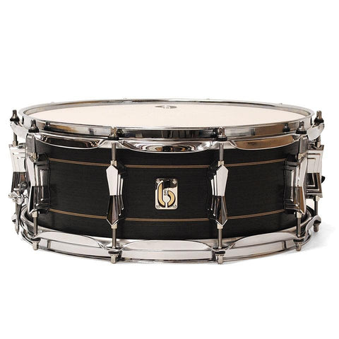 "British Drum Co. 14 x6.5"" Merlin Maple And Birch Hybrid Snare Drum"
