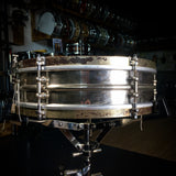 "Ludwig Nickel Over Brass 14"" x 4"" Vintage Snare Drum - 1920's"