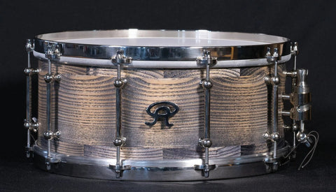 ANGEL DRUMS Ash 14x6.5 Matt Antique Brown