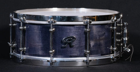 "Angel Drums - Ash 14"" x 5"" Plum Finish Snare Drum"