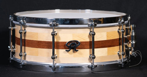 "Angel Drums - Mahogony/Maple/Pine 14"" x 5.5"" Snare Drum"