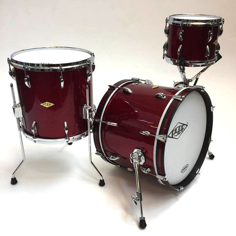 ASBA DRUMS - REVELATION MOULIN ROUGE DRUM KIT
