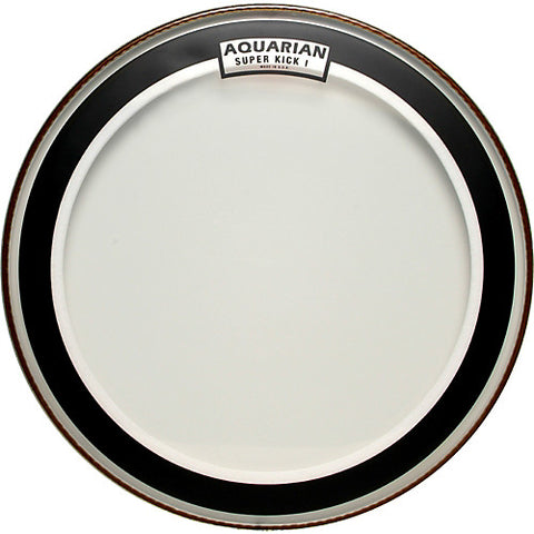 "Aquarian Super Kick Clear Bass Drum Head 22"" - SKI22"