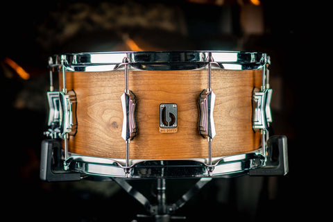 "British Drum Co. - Tulip / Cherry 14"" x 6.5"" 'Big Softy' Snare Drum"