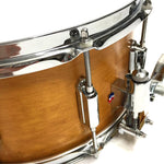 ASBA DRUMS - RIVE GAUCHE FINISH ELVIN JAUNE SNARE DRUM