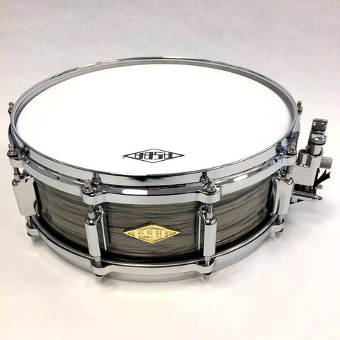 ASBA DRUMS - REVELATION FINISH FADE TO GRIS SNARE DRUM