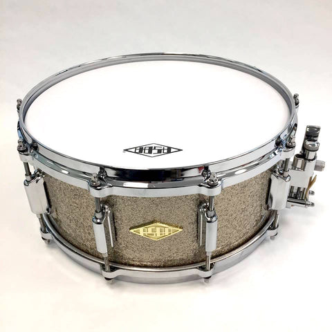 ASBA DRUMS - REVELATION FINISH MARCEL BLANCHE SNARE DRUM
