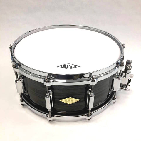 ASBA DRUMS - REVELATION FINISH ASBLACK SNARE DRUM