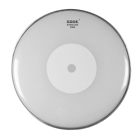 CODE TRS Smooth White Snare Drum Heads