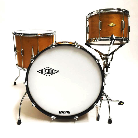 ASBA DRUMS - RIVE GAUCHE ELVIN JAUNE DRUM KIT